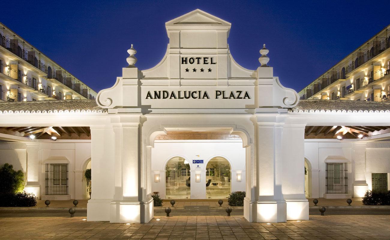 H10 Andalucia Plaza Hotel Puerto Banus Glencor Golf