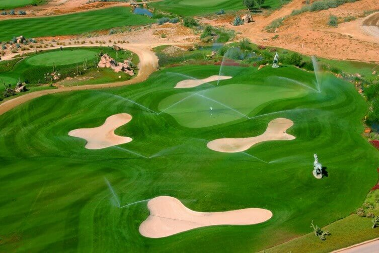 Desert Springs Golf Course, Almeria