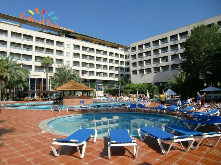 Estival Park Hotel, Platja la Pineda
