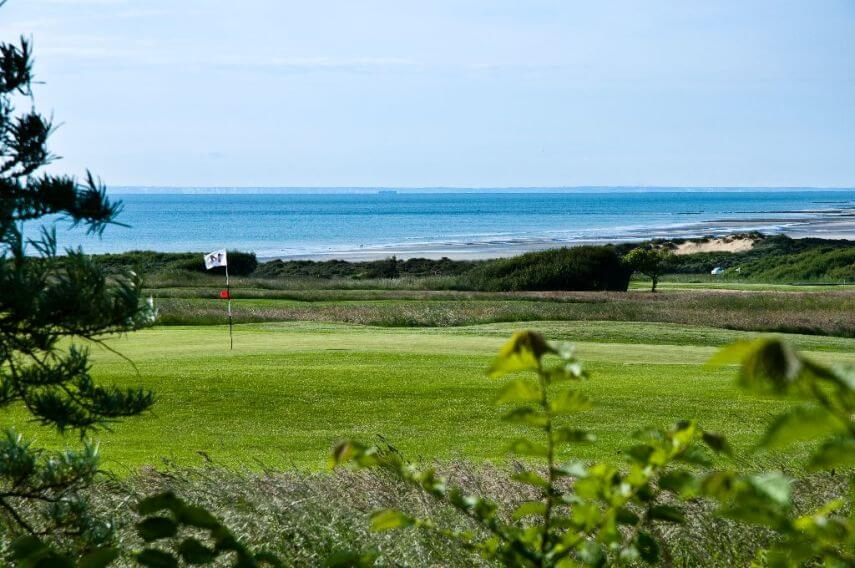 Golf De Wimereux, Saint-Omer, Northern France