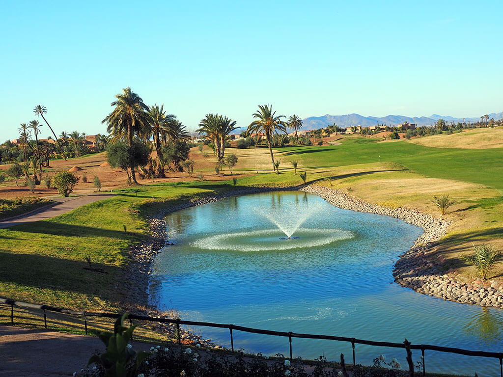 Golf Amelkis, Marrakech