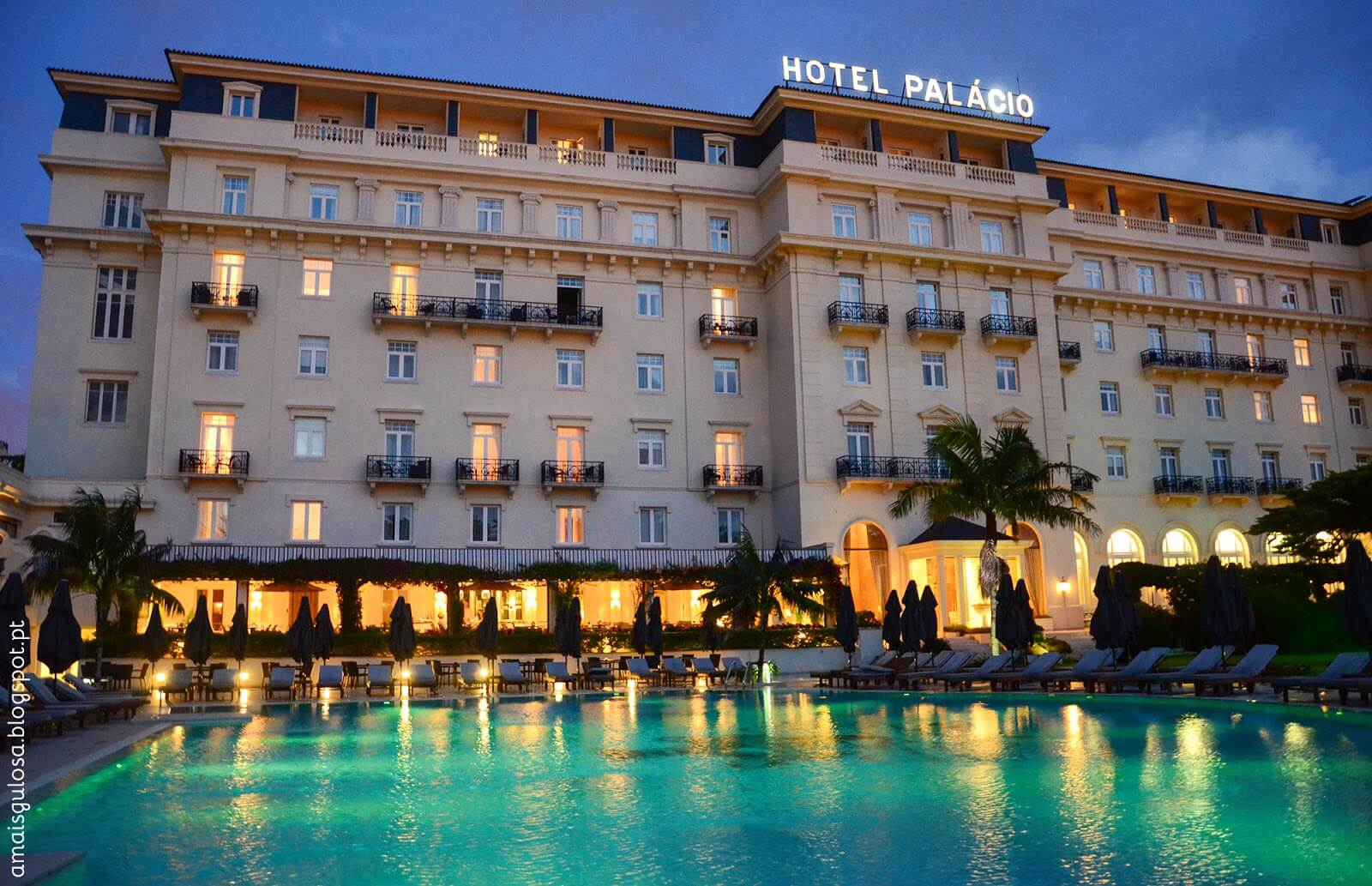 Hotel Palacio Estoril, Central Estoril