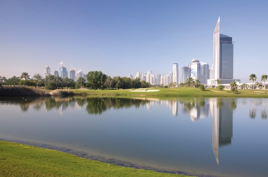 DUBAI - 5* The Address Montgomerie Dubai