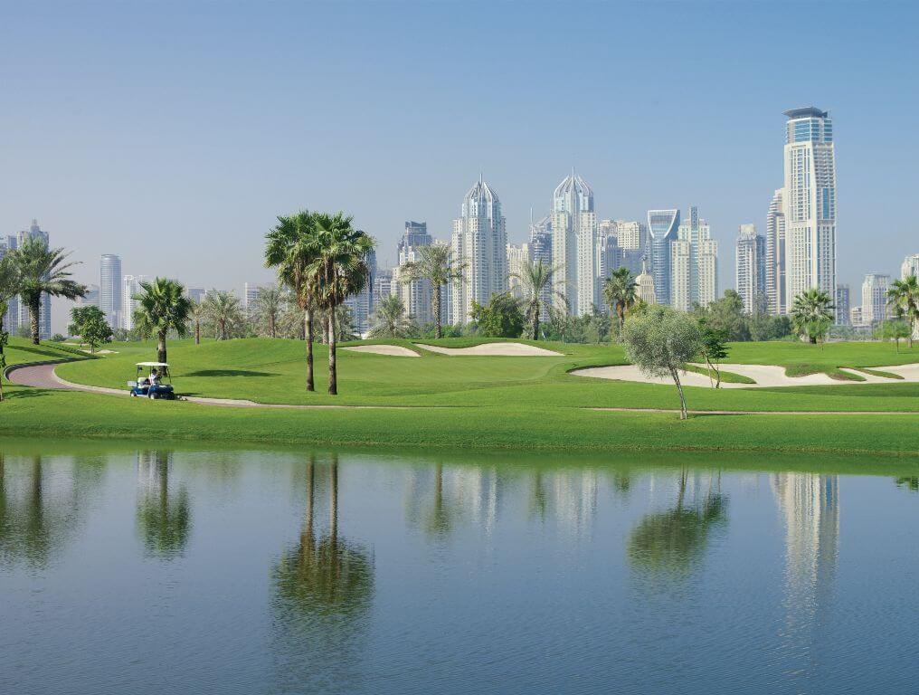 The Emirates Golf Club - Faldo Course, Dubai