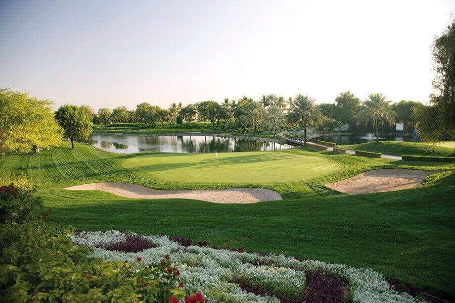 The Emirates Golf Club - Majlis Course, Dubai