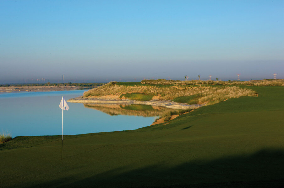 Yas Links Golf Club, Abu Dhabi