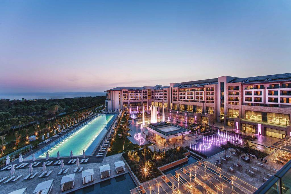 TURKEY – ALL INCLUSIVE – 5* Regnum Carya Golf And Spa Resort