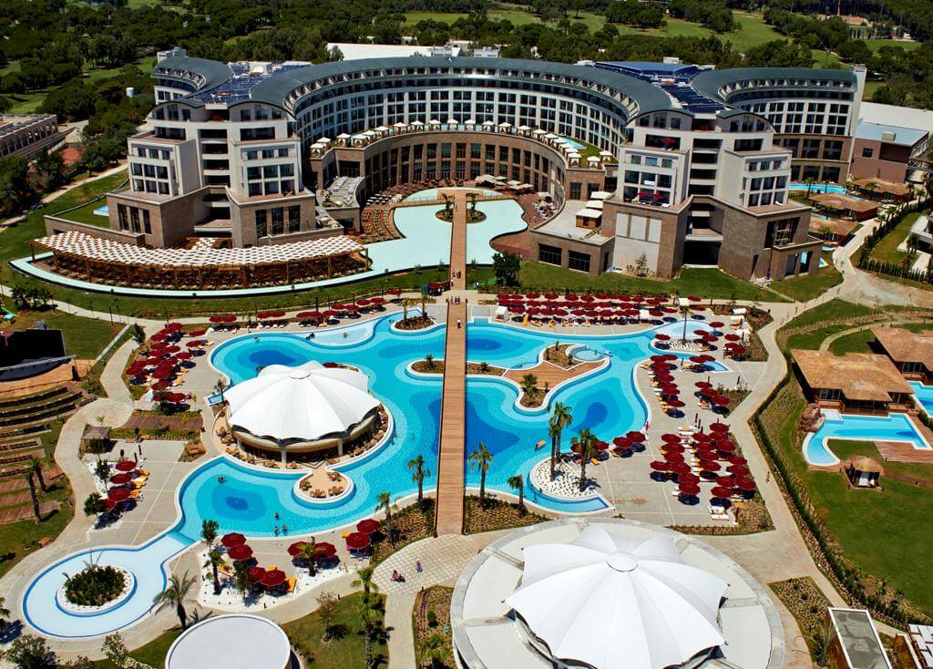 TURKEY – ALL INCLUSIVE – 5* Kaya Palazzo Golf Resort