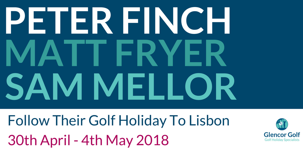 Peter Finch, Matt Fryer, and Sam Mellor Lisbon 2018